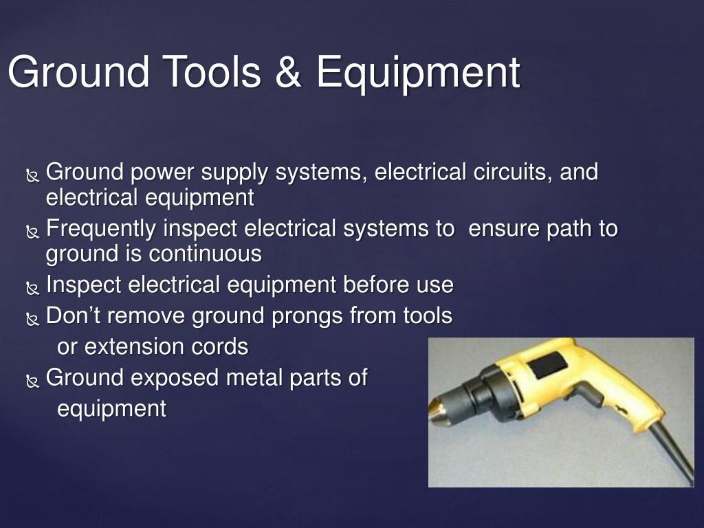 Ground Tools & Equipment