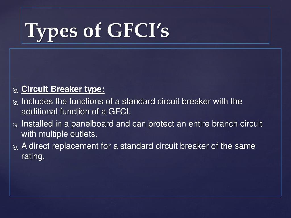 Circuit Breaker type: