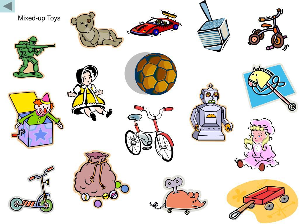 Mixed-up Toys