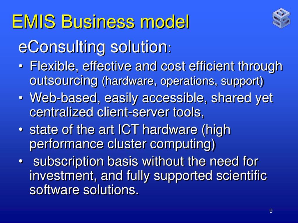 EMIS Business model