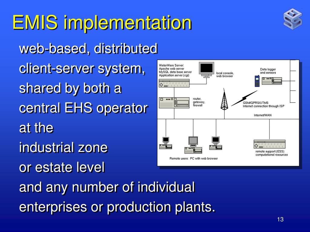 EMIS implementation