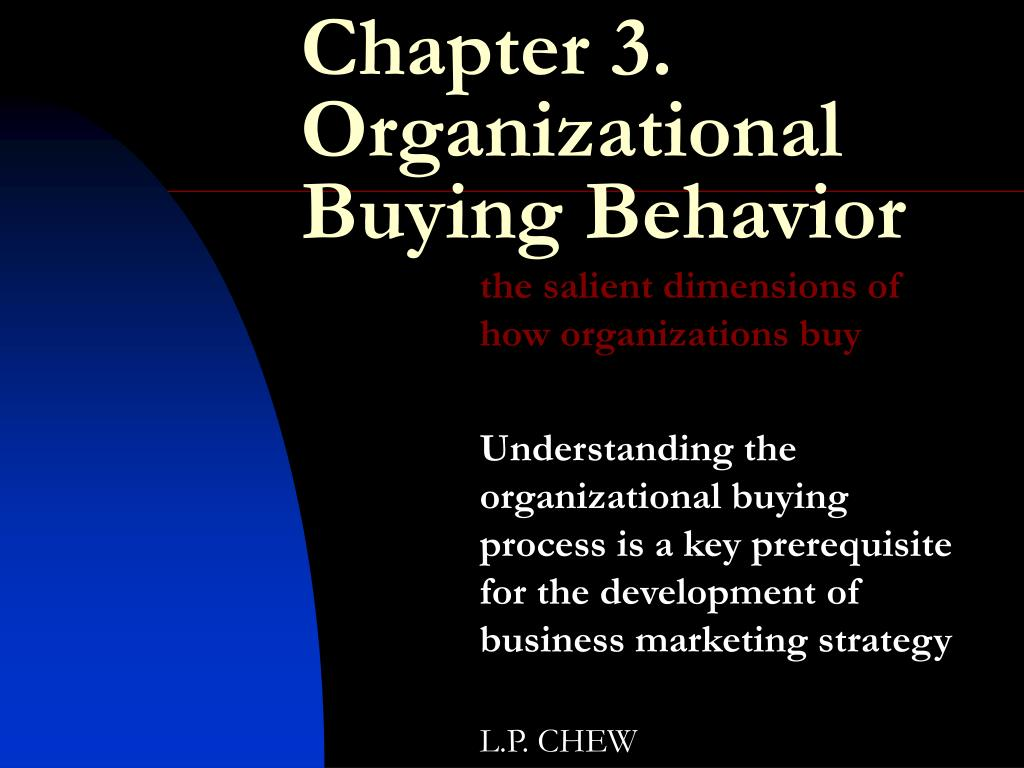 the stages in the organizational buying process Free essay: chapter 4: business, government and institutional buying process 44 the stages in the organizational buying process the process is fundamentally.