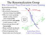 the renormalization group