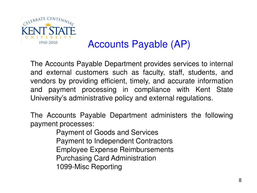 Accounts Payable (AP)