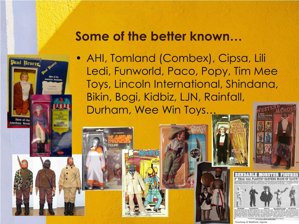 Some of the better known…