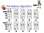 the bakery algorithm35