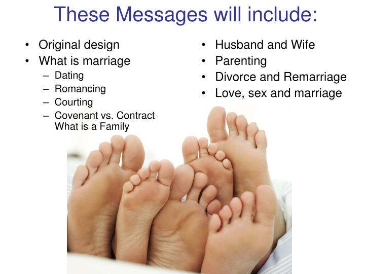 These messages will include