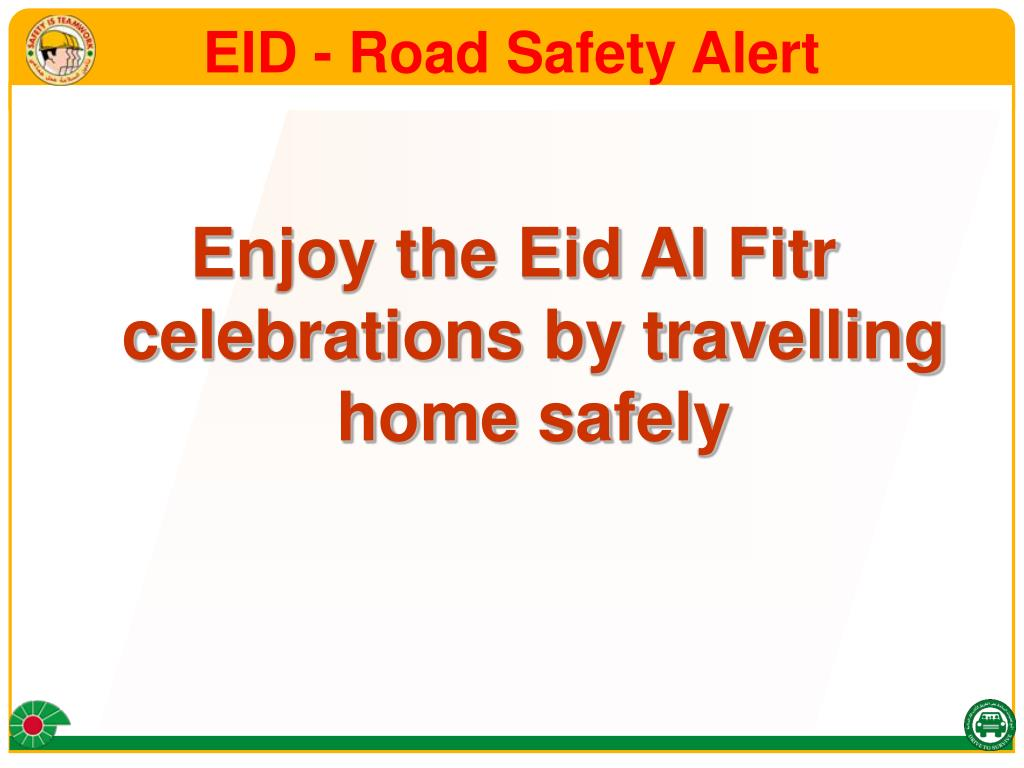 eid road safety alert l.