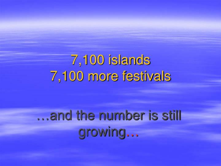 7 100 islands 7 100 more festivals