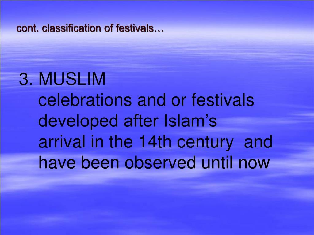 3. MUSLIM