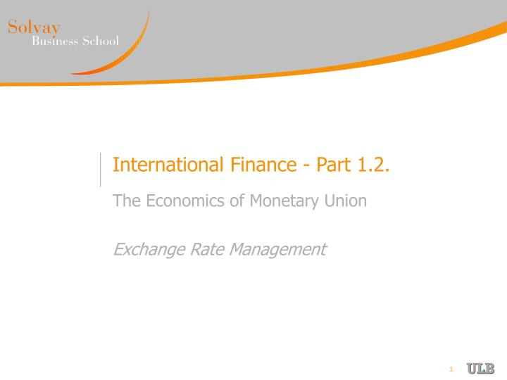 the economic and monetary union that both promise currency stability