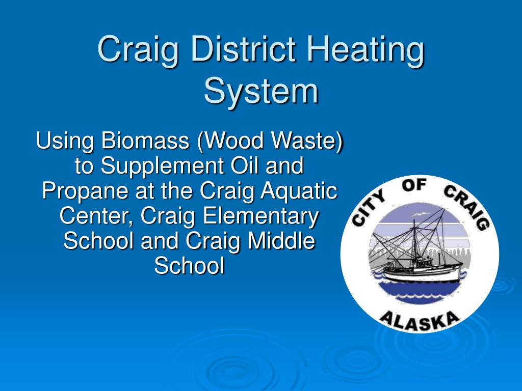 craig district heating system l.