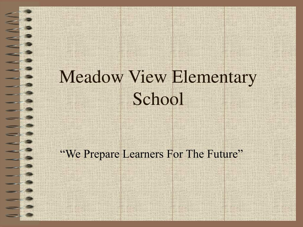 meadow view elementary school l.