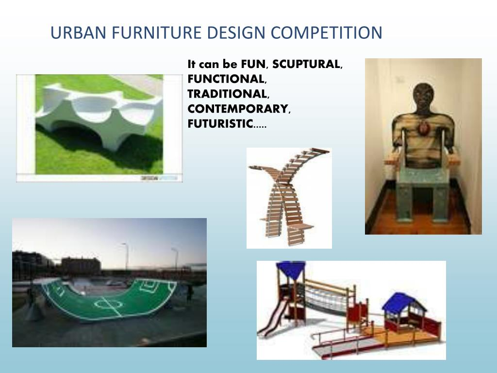 URBAN FURNITURE DESIGN COMPETITION