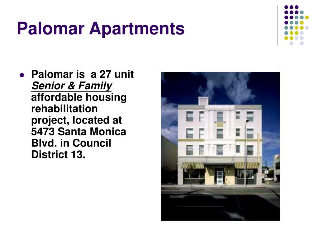 Palomar Apartments