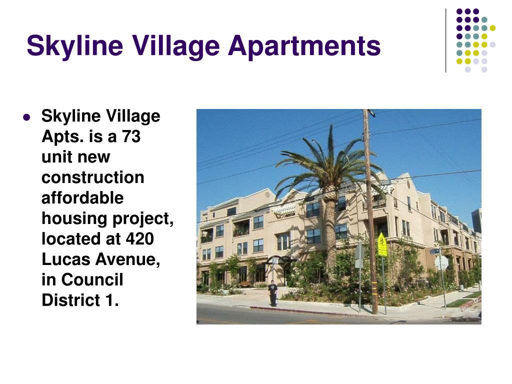 Skyline Village Apartments
