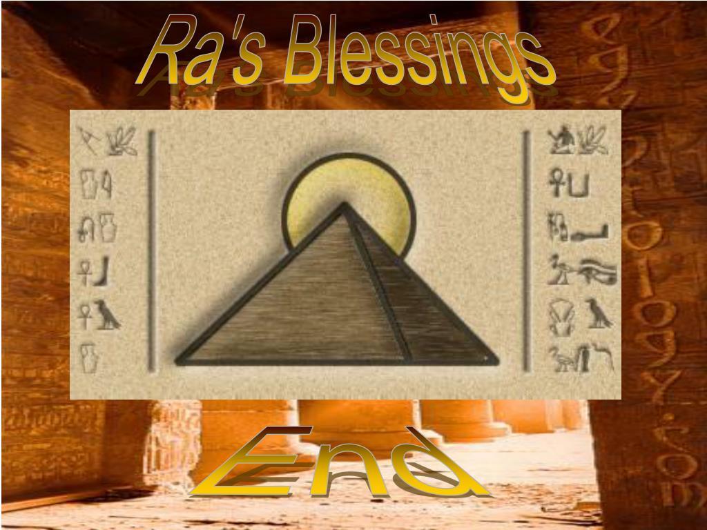 Ra's Blessings