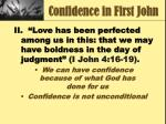confidence in first john4