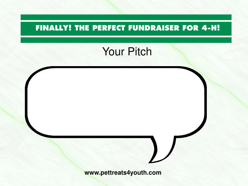 Your Pitch
