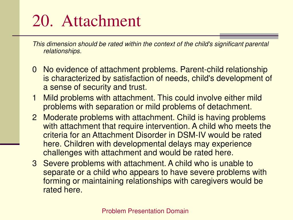 20.  Attachment