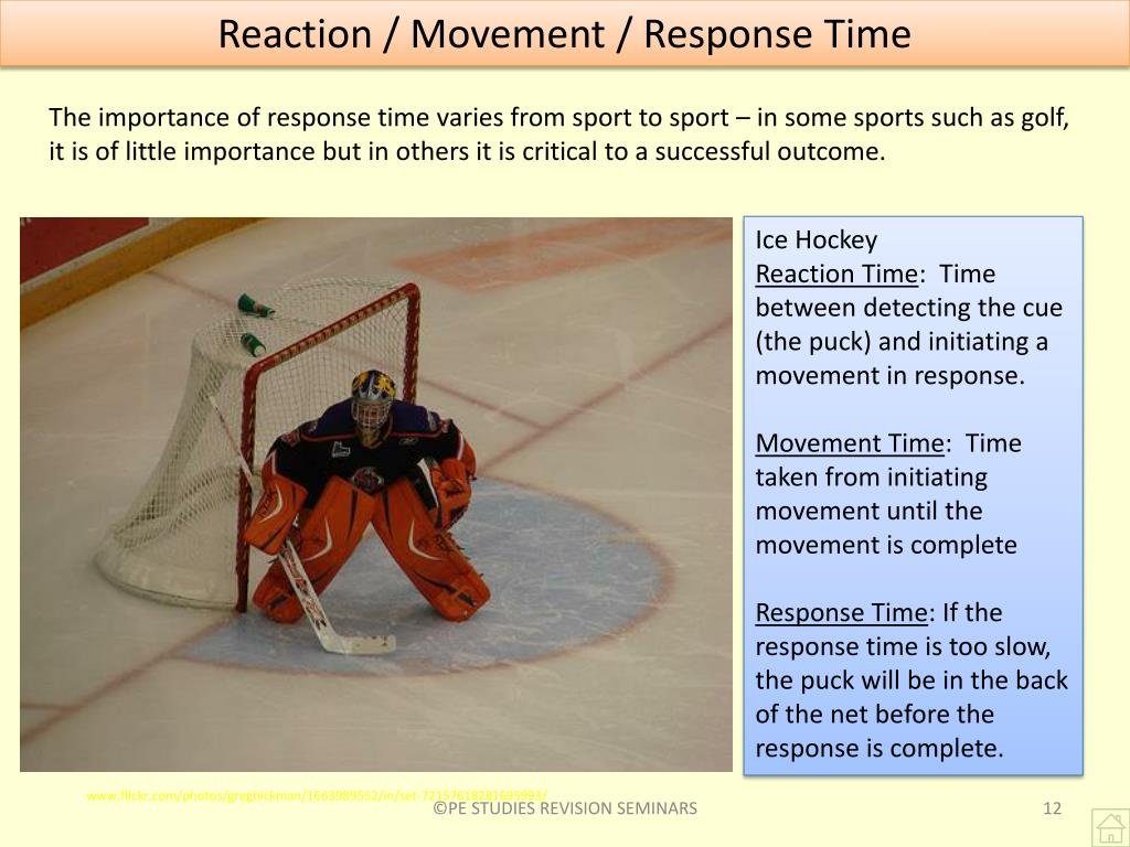 Reaction / Movement / Response Time