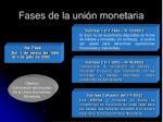 fases de la uni n monetaria15