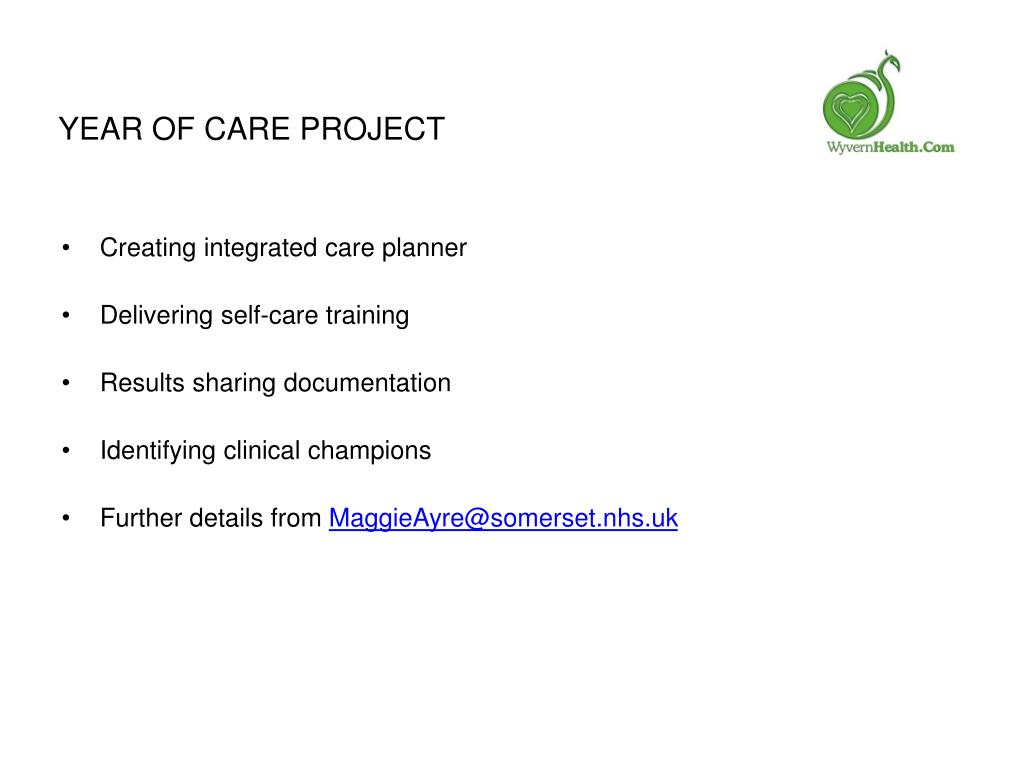 Year of Care Project