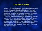 the case of jenny