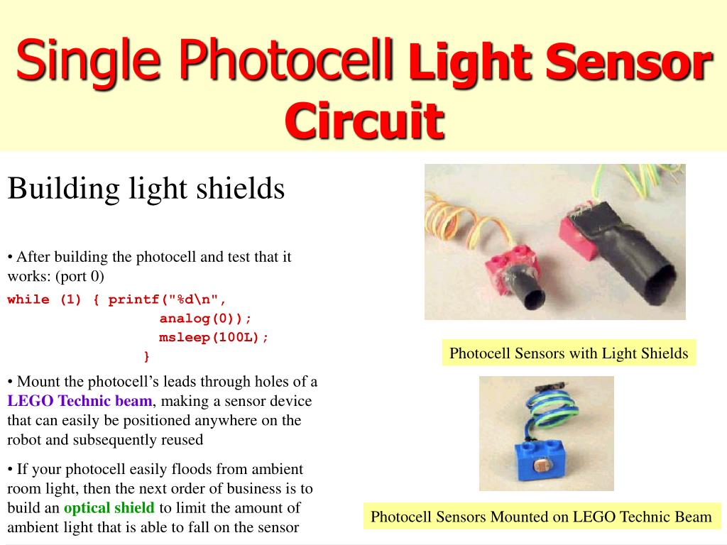 PPT - Light Sensors PowerPoint Presentation - ID:733434