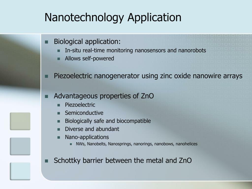 PPT - ZnO Nanowire Array Piezoelectric Nanogenerator