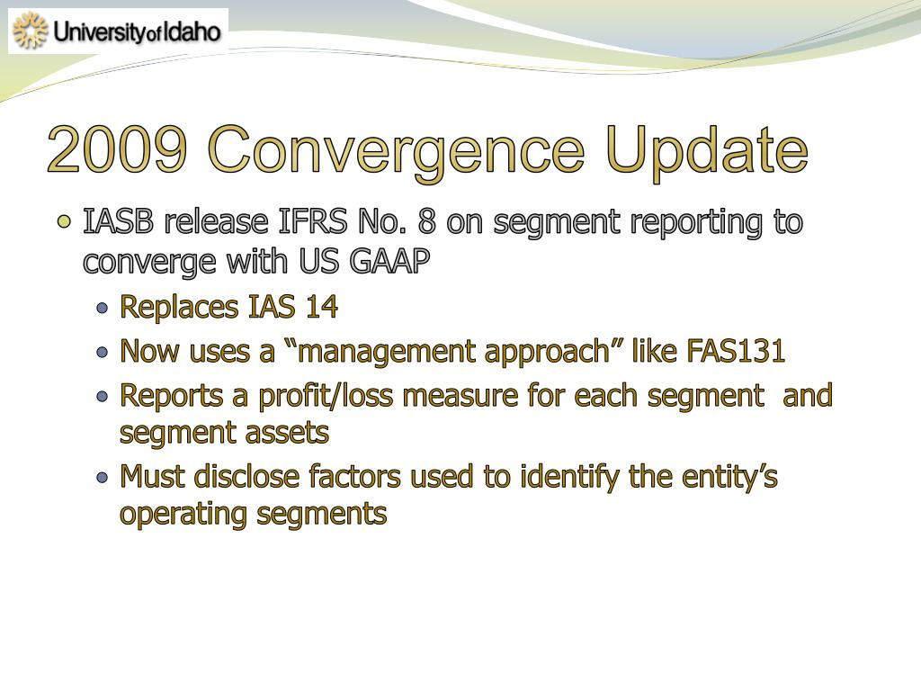2009 Convergence Update