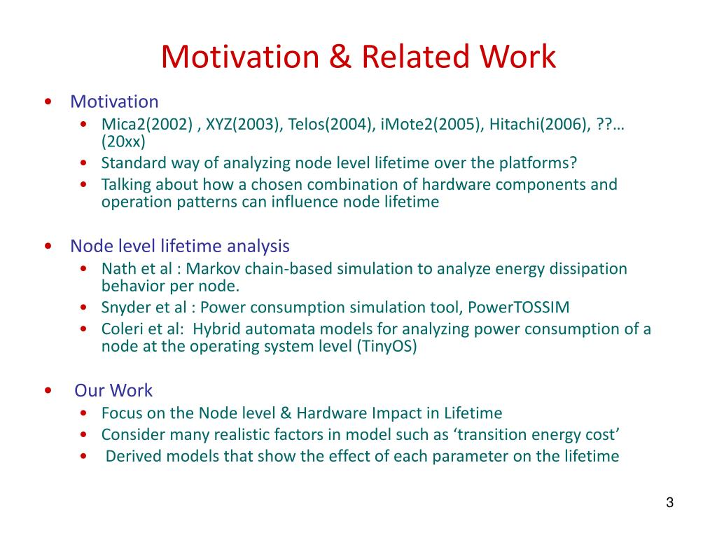 Motivation & Related Work