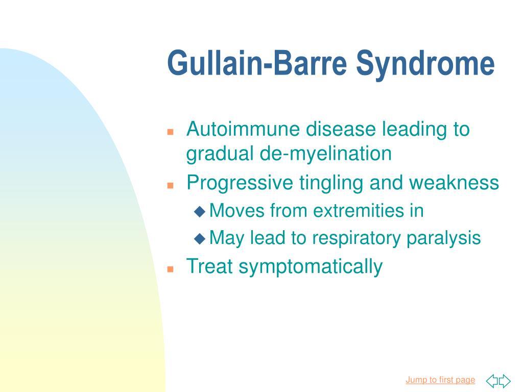 Gullain-Barre Syndrome