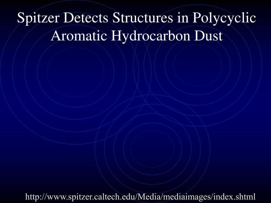 Spitzer Detects Structures in Polycyclic Aromatic Hydrocarbon Dust