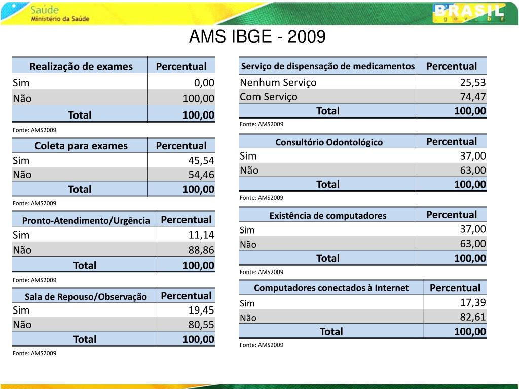 AMS IBGE - 2009