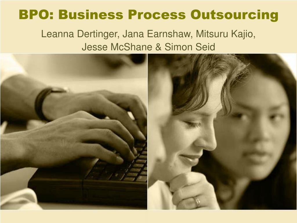 bpo business process outsourcing l.