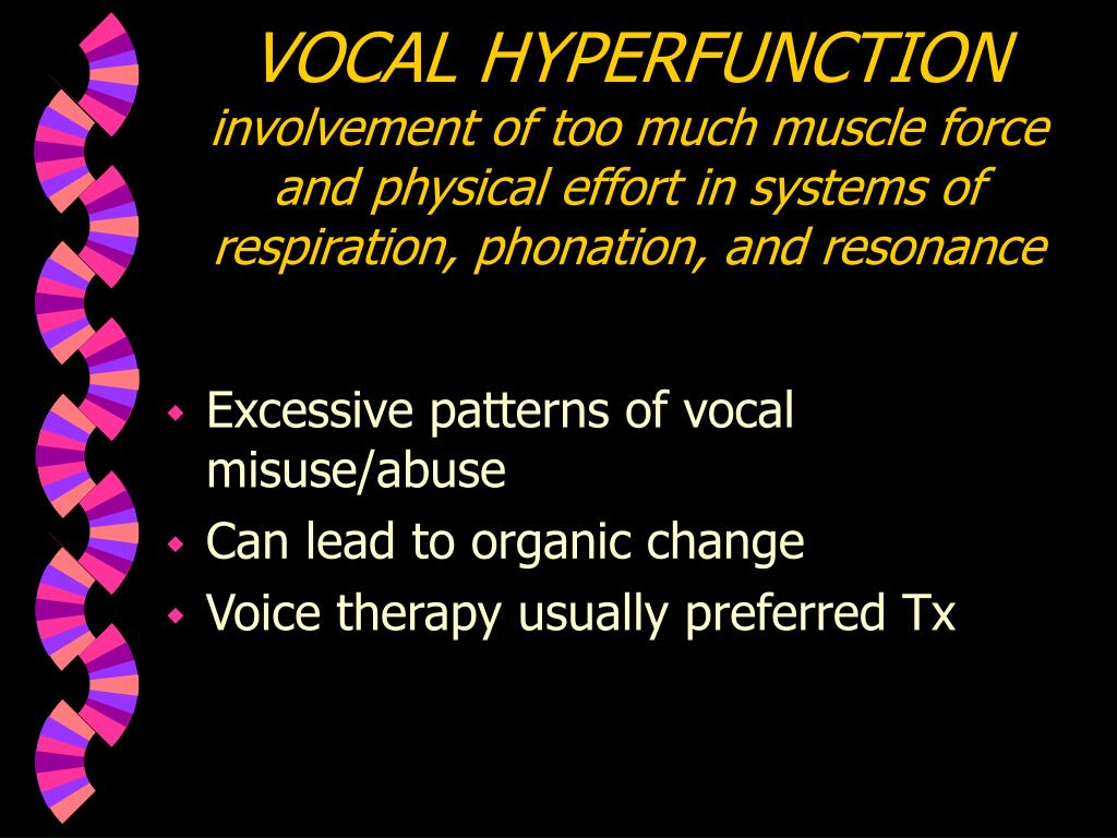 VOCAL HYPERFUNCTION
