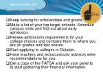 senior checklist fall