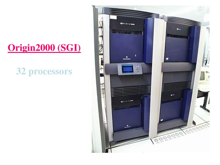 Origin2000 (SGI)