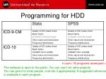 programming for hdd