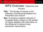 wp2 overview objectives and process