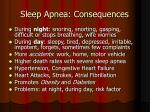 sleep apnea consequences