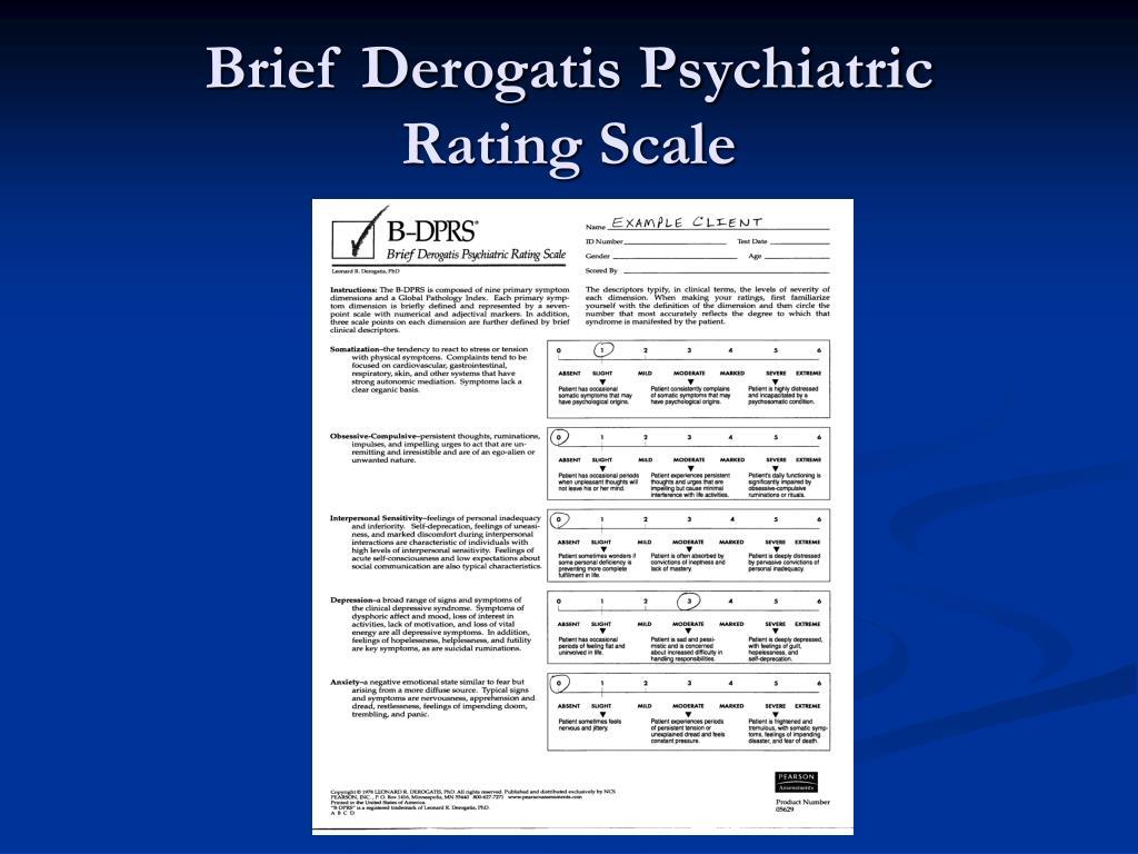 Brief Derogatis Psychiatric