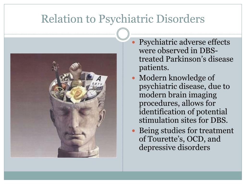 Relation to Psychiatric Disorders