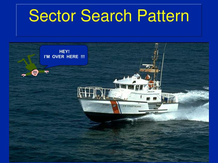 sector search pattern n.