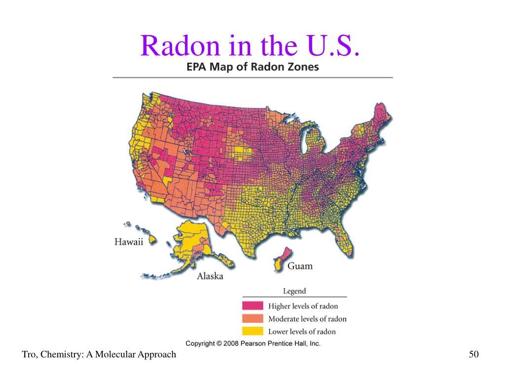 Radon in the U.S.