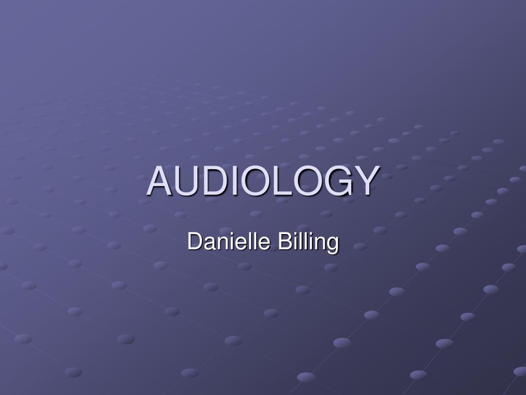 audiology l.