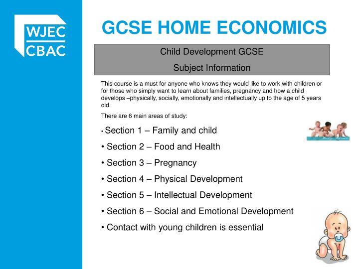 gcse home economics n.
