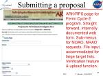 submitting a proposal1