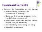 hypoglossal nerve xii54